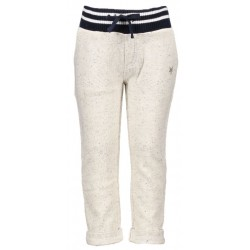LCEE L708-6620-407 Sweat Pants Bone Beige/Navy