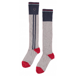 Street Called Madison S707-5906-750 Overknee Sock Grey Melee