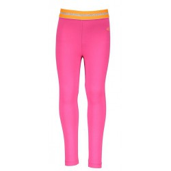 KIDZ ART K809-5542 LEGGING LONG PLAIN NEON FUCHSIA PINK