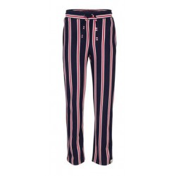 INDIAN BLUE JEANS IBG19-2253-118 STRIPPED PANTS BLUE