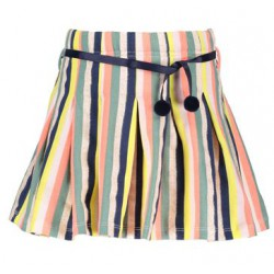 NONO N902-5701-502 NENAB PLEATED SKIRT MULTI