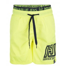 INDIAN BLUE JEANS IBB19-9507-851 BEACHSHORT BRIGHT LIME