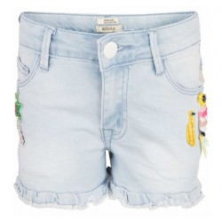 INDIAN BLUE JEANS IBG19-6005 DENIM SHORT