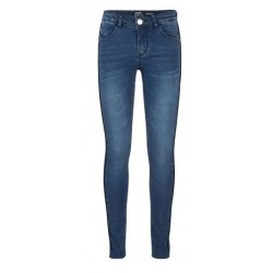 INDIAN BLUE JEANS IBG-2125-152 JAZZ SUPER SKINNY FIT USED DARK DENIM BLUE