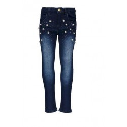 LE CHIC C908-5685-883 JEANS DARK BLUE DENIM