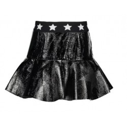 B.NOSY Y910-5700-099 SKIRT WITH RUFFLE BLACK