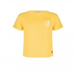 INDIAN BLUE JEANS IBG20-3105 T-Shirt Yellow