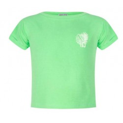 INDIAN BLUE JEANS IBG20-3112-694 CROPPED T-SHIRT GREEN