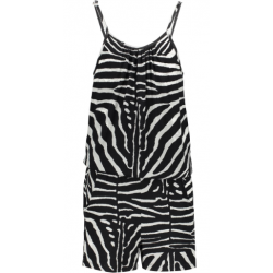 GEISHA 01406K-60-909 PLAYSUIT BLACK/GREY ZEBRA