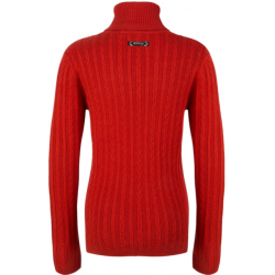INDIAN BLUE JEANS IBG22-8009-759 KNITWEAR LONGSLEEVE RUST RED