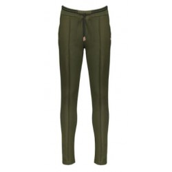 NOBELL Q108-3601-300 SECLER PANTS WITH RIB WAISTBAND ARMY GREEN