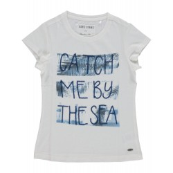 Cars 3742220 Catch T-Shirt Off White